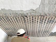 Solai al sicuro contro lo sfondellamento e le fiamme grazie a X Plaster W-System® di Ruredil