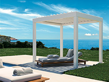 La nuova R620 Pergoklima rivoluziona il concetto del vivere outdoor