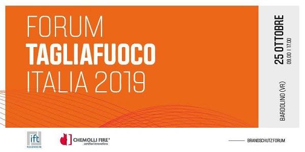 Forum Tagliafuoco Italia 2019