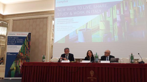 Conferenza presentazione Osservatiorio abitazioni per studenti in Italia