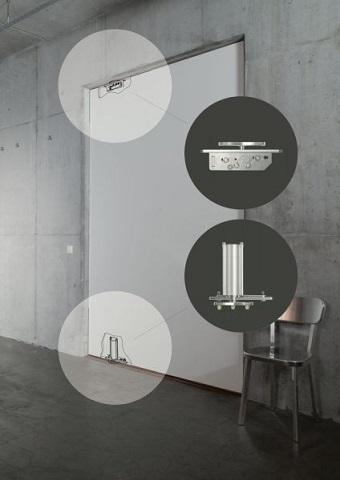 FritsJurgens-System - Sistema di fissaggio porte a bilico