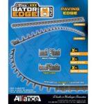 07. Gator Edge FLEX/RIGID: cordolo in plastica