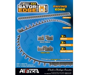 07. Gator Edge FLEX/RIGID: cordolo in plastica