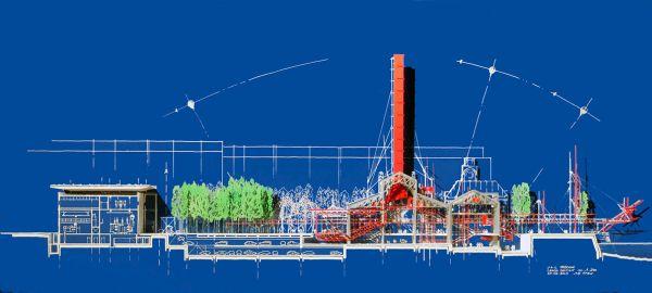 Museo GES 2 a Mosca, progetto di Renzo piano