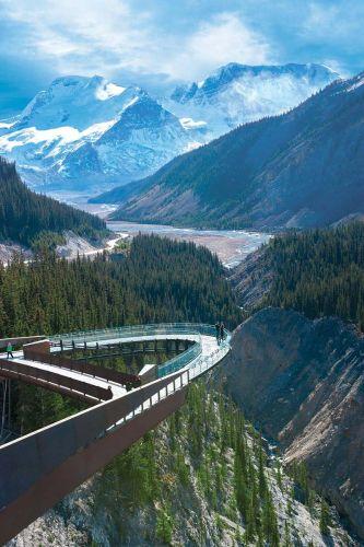Glacier Skywalk in Canada fra i ponti più belli del mondo