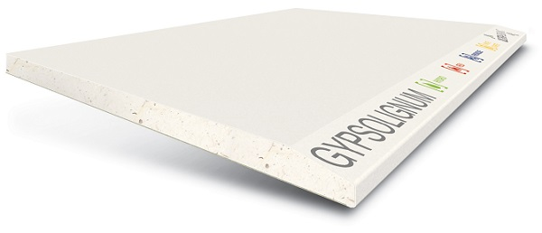 Lastra in cartongesso GYPSOTECH® GypsoLIGNUM TIPO DEFH1IR
