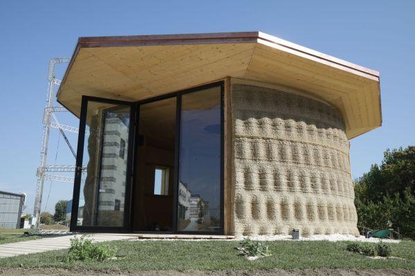 Gaia casa naturale stampata 3D dall'azienda Wasp