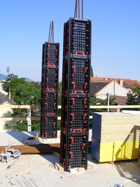 Cassaforma in ABS per pilastri quadrati e rettangolari
