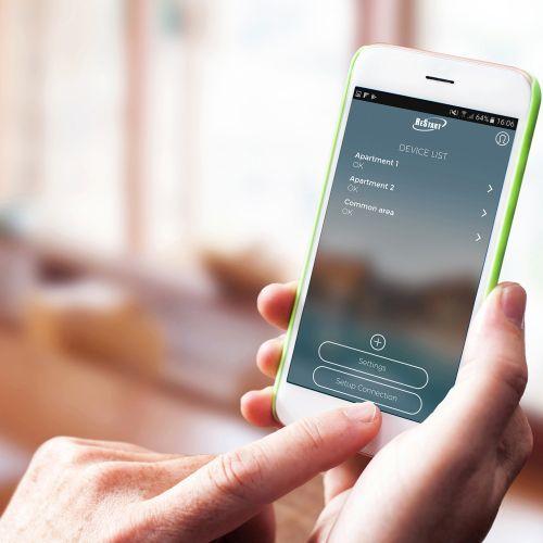 I dispositivi ReStart di Gewiss per la sicurezza si possono monitorare tramite una semplice APP