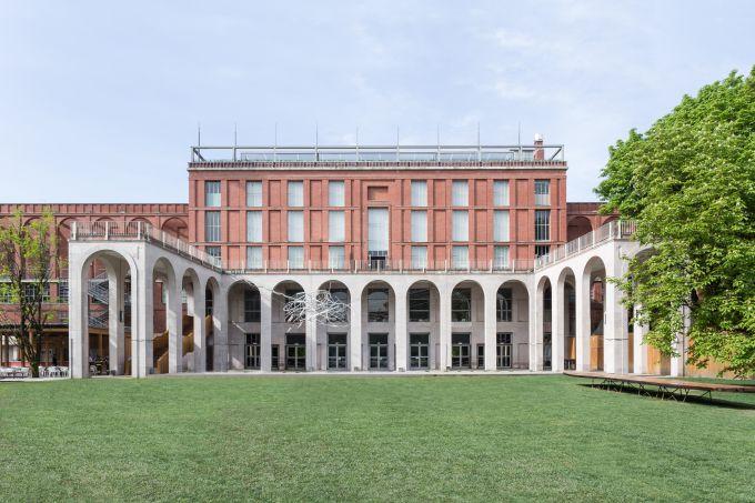 Il giardino della Triennale di Milano
