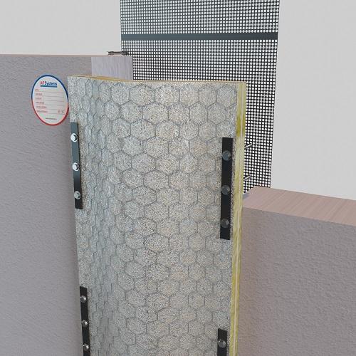 AF SEISMIC JOINT giunto parete-parete
