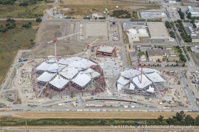 Svelate nuove immagini aeree del quartier generale di Google