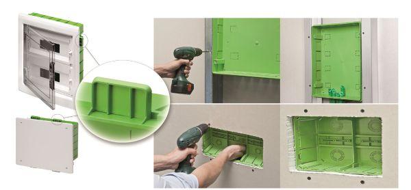 La serie Green Wall di Gewiss facile da applicare