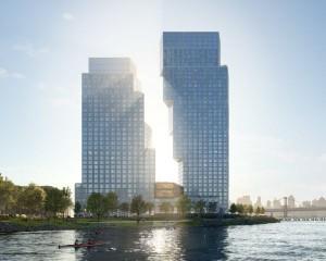 Greenpoint Landing: gli edifici complementari che sembrano pezzi di tetris