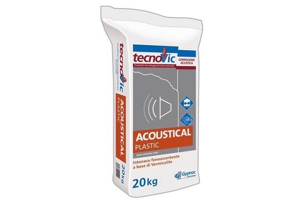 Gyproc Acoustical Plastic: intonaco isolante premiscelato
