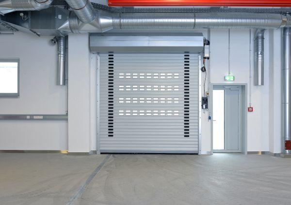 Serrande avvolgibili Hörmann nella centrale elettrica Gemeinschaftskraftwerk Schweinfurt