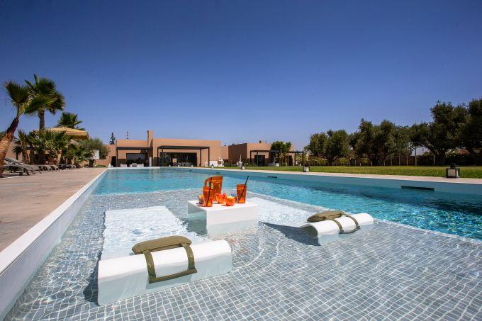 HI-MACS per il resort Les Olivades Marrakech