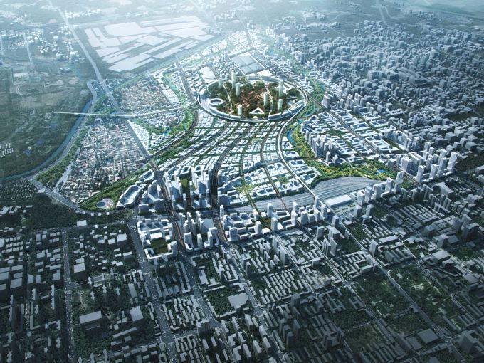 Hangang Green Jade: da sito industriale a città del futuro