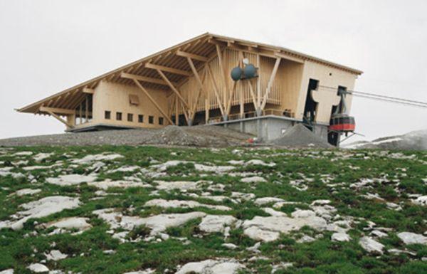 Herzog & de Meuron, funivia sul monte Chaserrugg Svizzera