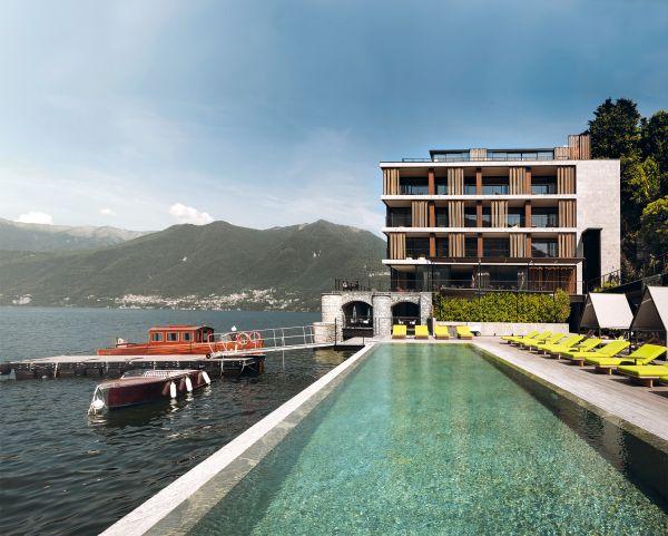 Geberit AquaClean per l'hotel di lusso Il Sereno a Como