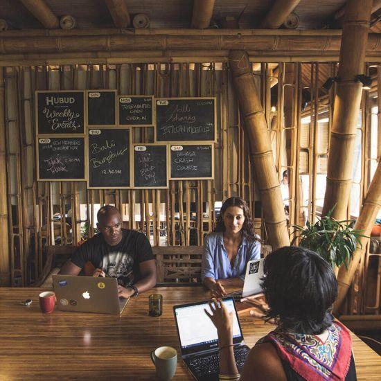 Hubud, un coworking a Bali