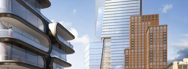 Lo Hudson Yard, imponente complesso residenziale e commerciale sulla sponda occidentale di Manhattan