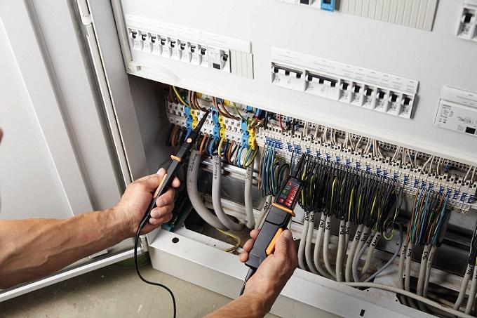 Tester di tensione testo 750-1 con indicatori a LED