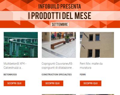 Infobuild consiglia… Settembre 2018