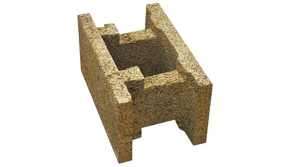 Blocco acustico in legno cemento