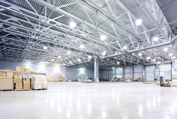 Illuminazione led di digital facility