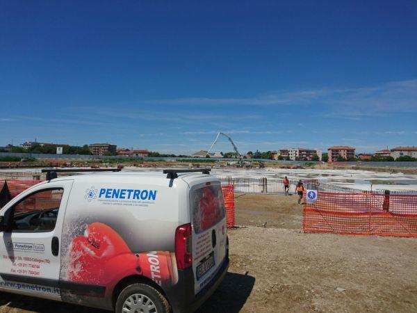 Impermeabilizzazione del calcestruzzo con tecnologia Penetron