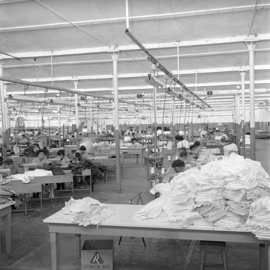 EX Cotorossi, operaie al lavoro, - archivio fotografico di Chiuppano Fondo Giacomello