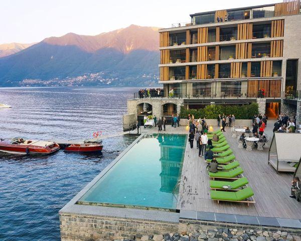 Supporti PEDESTAL LINE di Impertek per l'hotel extra-lusso firmato Urquiola