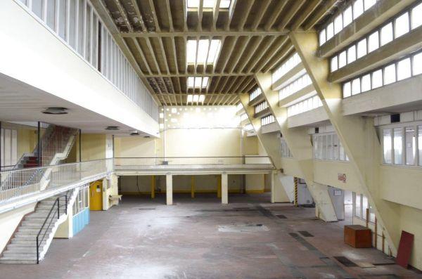 Gli interni della ex tipografia Mario Gros a Torino che sarà riqualificata