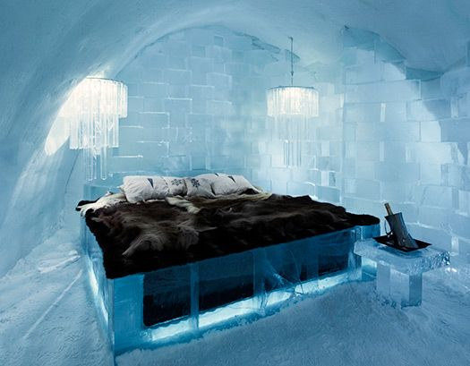 Ice hotel Jukkasjärvi, hotel di ghiaccio in Lapponia