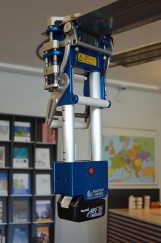 Robot noleggiabile per la posa in opera del sistema GP Cool Speed