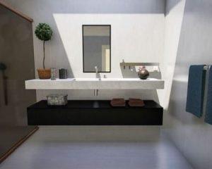 Il bagno degli ospiti