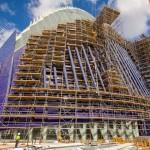 Ponteggi Ulma per la ristrutturazione del Palazzo Agora