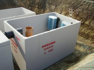 Vasche prefabbricate in calcestruzzo