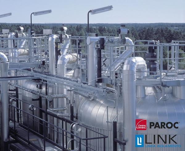 Gamma di soluzioni Link Industries per per isolamento termico acustico per il navale e l'industria