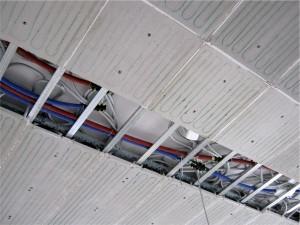 Sistema radiante a soffitto e parete b!klimax di RDZ 2