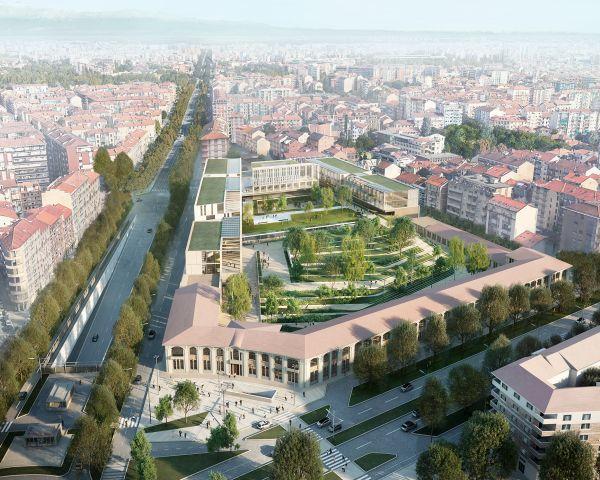 studio Iotti + Paravani si è aggiudicato il progetto per la riqualificazione della caserma Amione di Torino