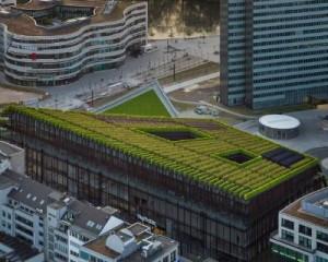 Inaugurato l'edifico con la più grande facciata verde d'Europa