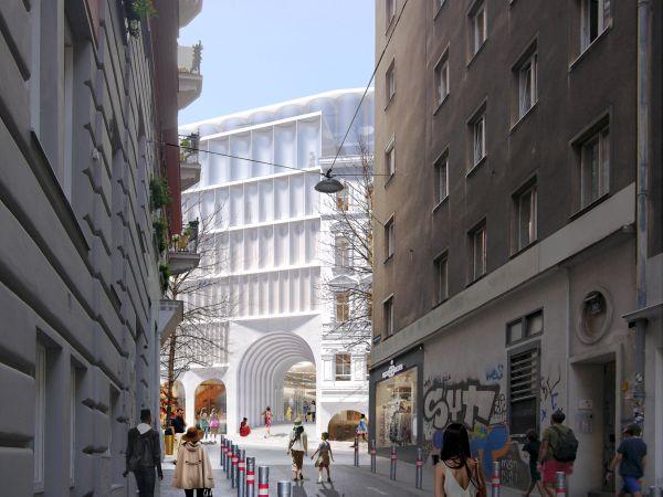 Il nuovo complesso commerciale e alberghiero KaDeWe a Vienna - The Link