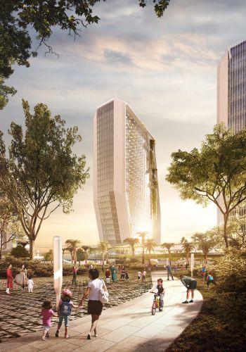 Karle Town center, un nuovo campus tecnologico sostenibile, resiliente