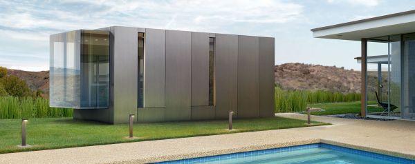 Kasita, una moderna micro casa super tecnologica progettata da Jeff Wilson