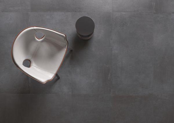 Keope: collezione effetto cemento Noord, finitura Anthracite