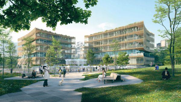 Lo studio italiano It's progetta la ristrutturazione dell'École de Architecture di Nanterre