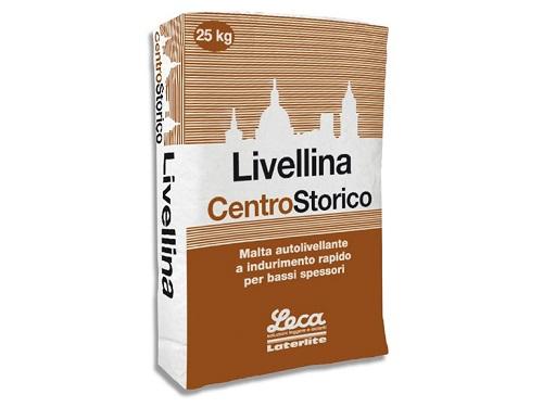 Livellina CentroStorico - Malta autolivellante compatta