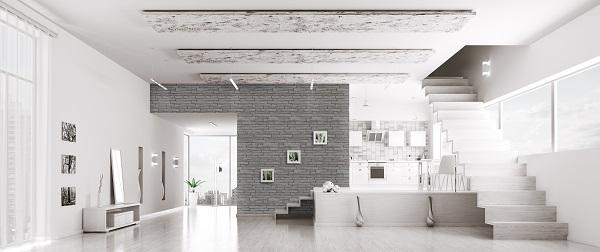Linea living per spazi interni moderni for Ambienti interni moderni